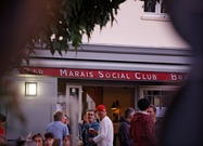 "Bar-brasserie ""Marais Social Club"""